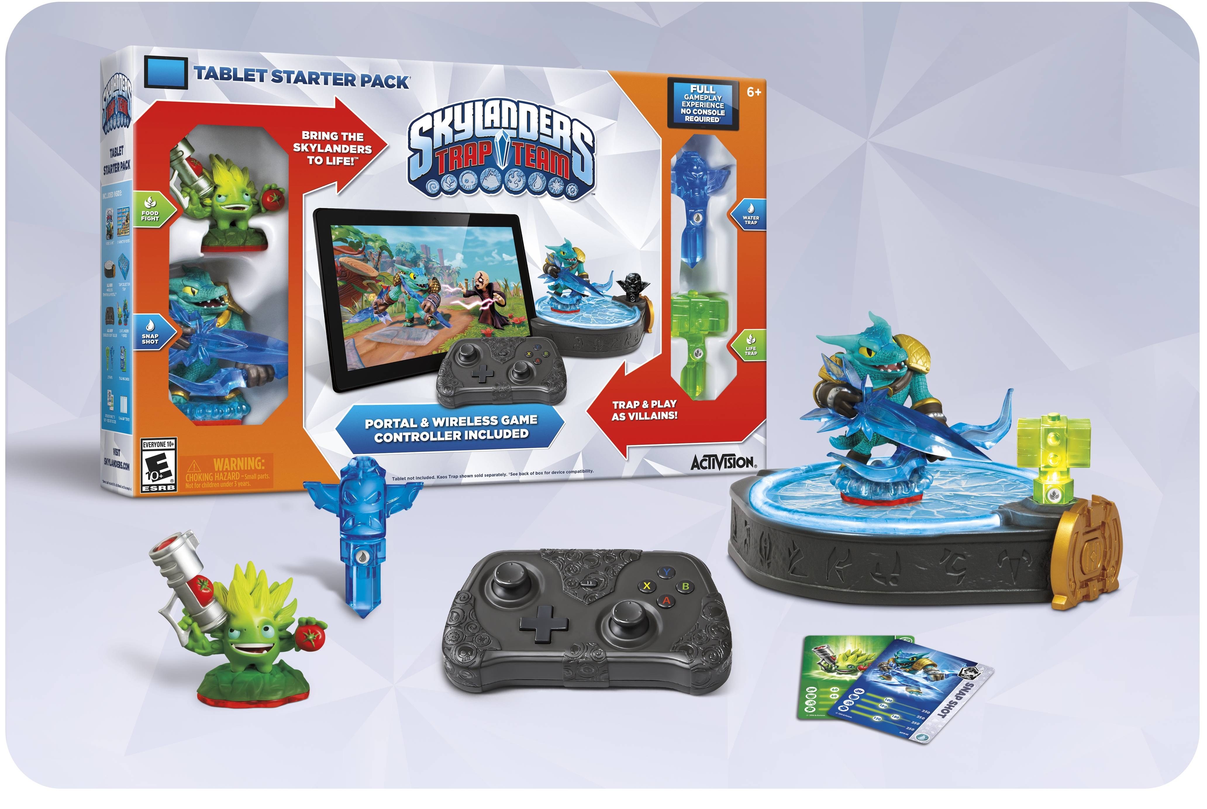 Skylanders Trap Team PlayStation 4, Xbox One, Nintendo Wii U, PlayStation 3, Xbox 360, Nintendo 3DS, iPad, Nintendo Wii, Mobile thumbs