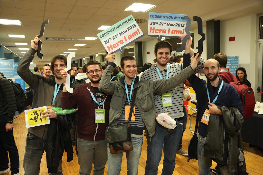 Immagine Codemotion 2015