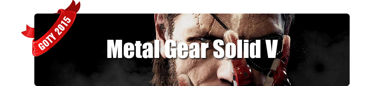 Game of The Year 2015 - Miglior Sonoro - Metal Gear solid V: The Phantom Pain