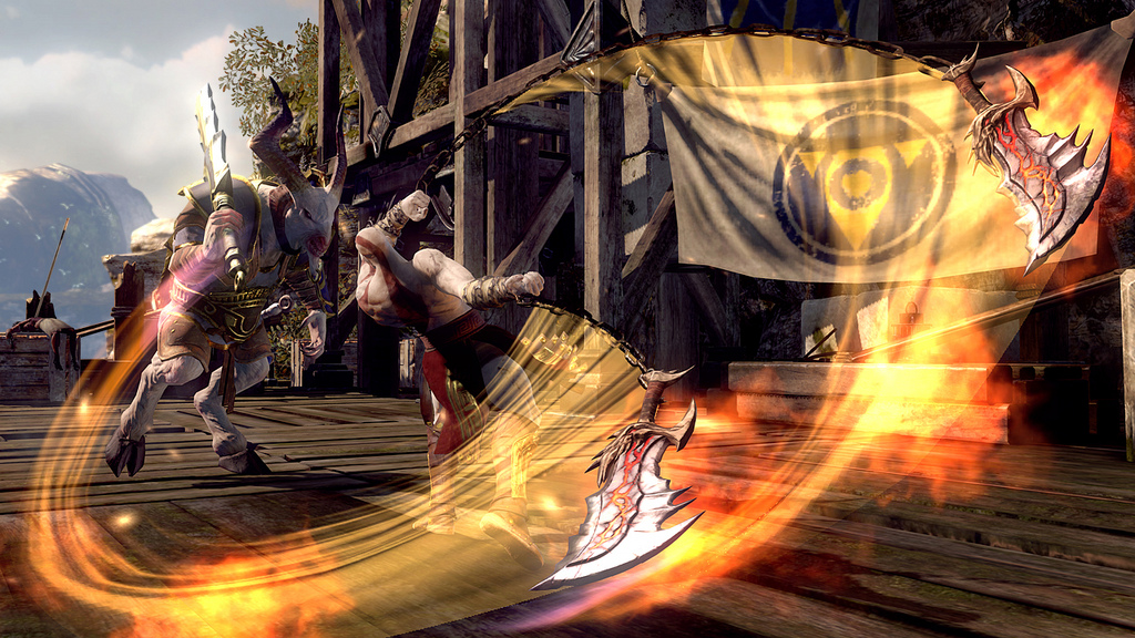 Quattro nuovi scatti per God of War: Ascension