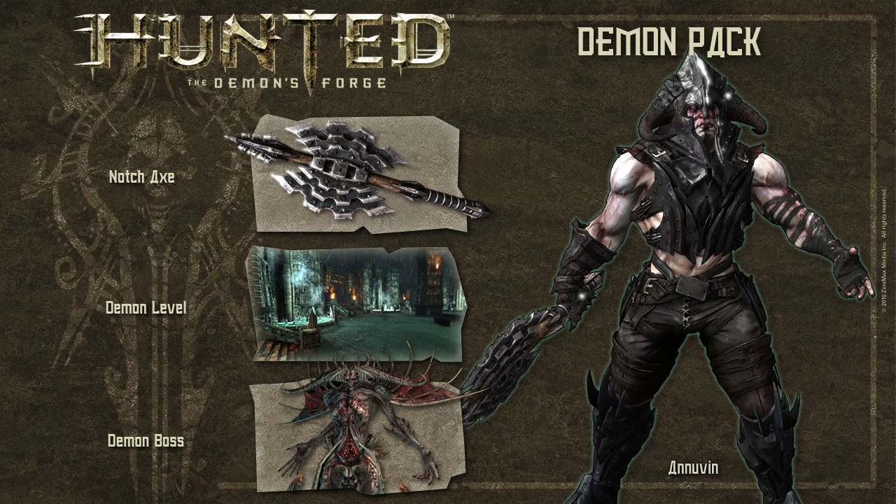 Hunted: La Nascita del Demone