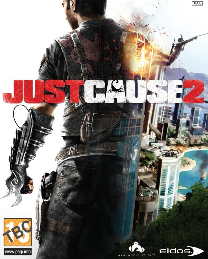 just cause 2 cover - Just Cause 2 (�n inceleme)