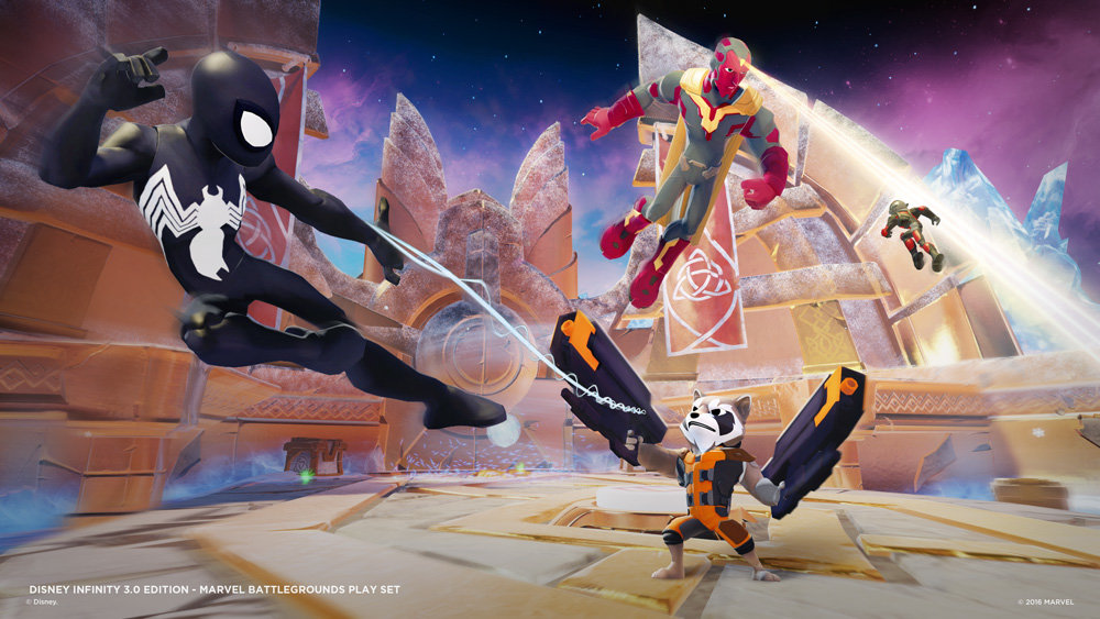 Pillole Videoludiche - Disney Infinity 3.0: Marvel Battlegrounds