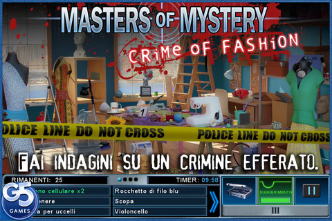 Masters of Mystery: Crime of Fashion