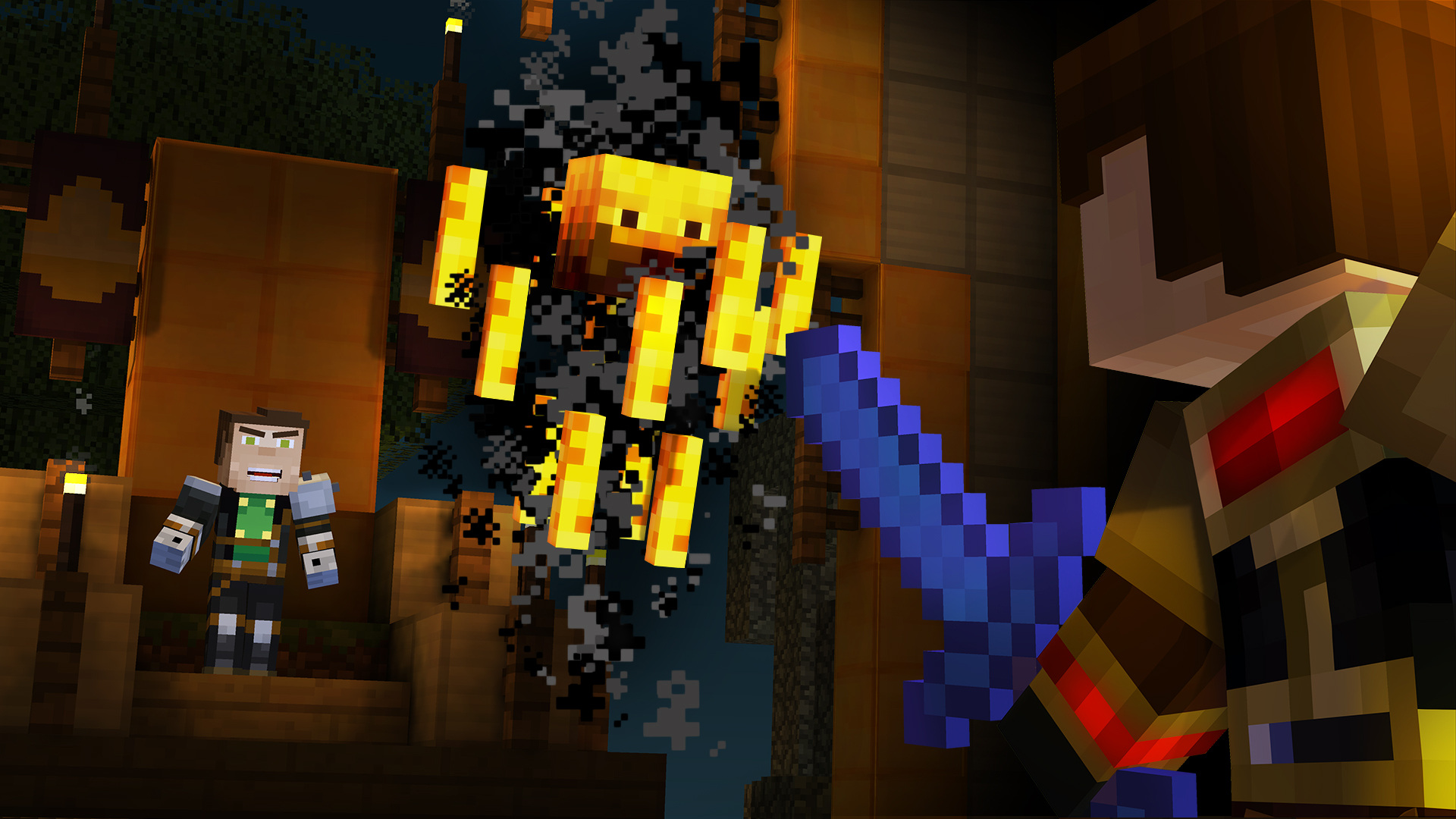 Minecraft: Story Mode - Episode Five: Order Up!
