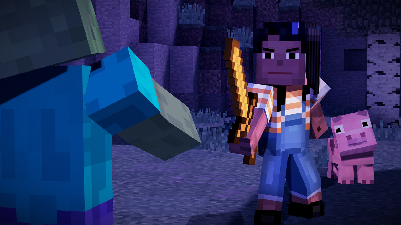 Minecraft: Story Mode - Episode One: The Order of the Stone