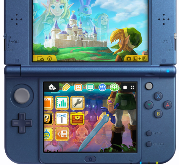 Immagine Tema Home New Nintendo 3DS