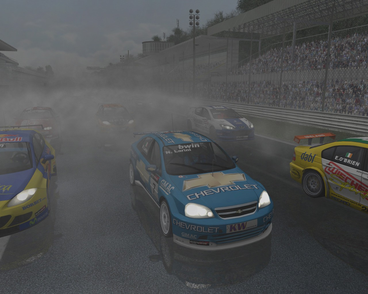 key race the official wtcc game: