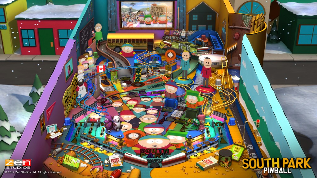 Zen Pinball 2: South Park Pinball