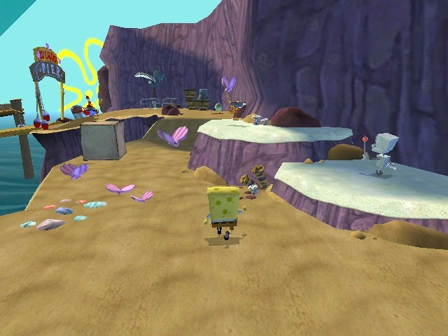 battle for bikini bottom game hints