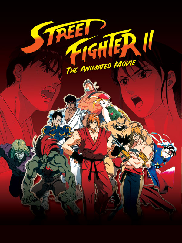 Street Fighter II (Film) affiche