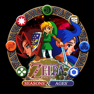 The Legend of Zelda: Oracle of Seasons - Oracle of Ages GBC