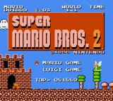 Super Mario Bros.: The Lost Levels Nintendo 3DS