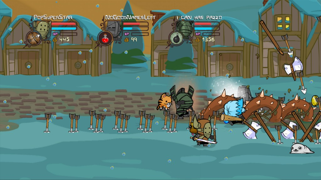 castle crashers recensione playstation 3 xbox 360 pc